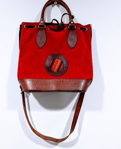 Handmade Leather Purse With Tooled Trim